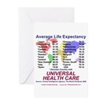 Universal Health Care Greeting Cards (Pk of 10)