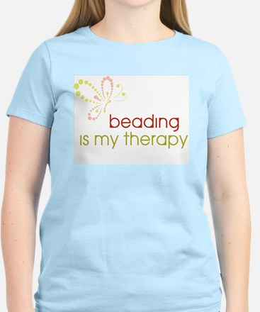 Beading is my Therapy Women's Light T-Shirt