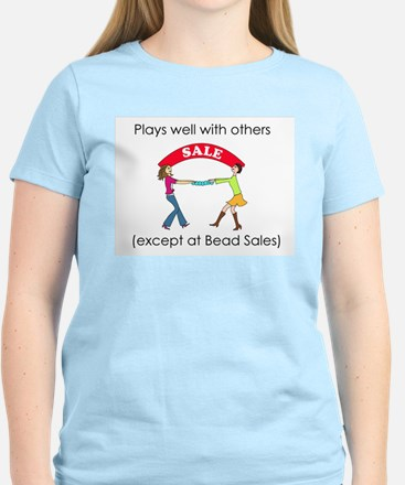 Plays well with others... Women's Light T-Shirt