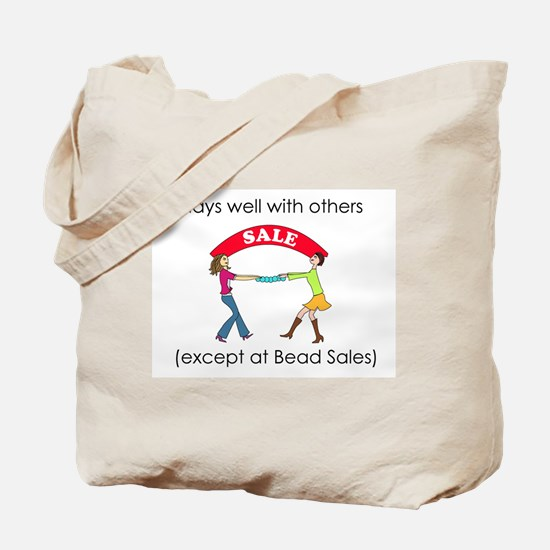 Plays well with others... Tote Bag