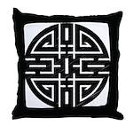 Chinese Longevity Throw Pillow