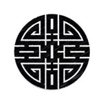 """Chinese Longevity 3.5"""" Button (100 pack)"""