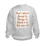 Whine Busters Kids Sweatshirt
