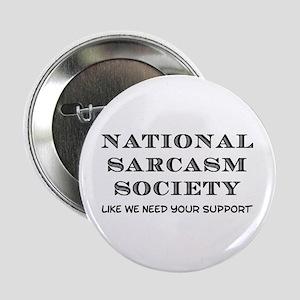 "National Sarcasm 2.25"" Button"