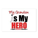Lung Cancer Hero (Grandson) Postcards (Package of