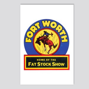 Fort Worth Texas Postcards (Package of 8)