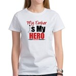 Lung Cancer Hero (Father) Women's T-Shirt