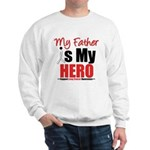 Lung Cancer Hero (Father) Sweatshirt