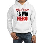 Lung Cancer Hero (Father) Hooded Sweatshirt