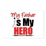 Lung Cancer Hero (Father) Postcards (Package of 8)