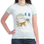 Whatcha Doin Jr. Ringer T-Shirt