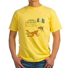 Whatcha Doin Yellow T-Shirt