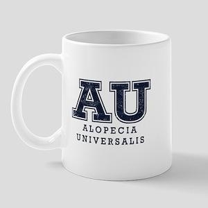 AU Alopecia Universalis Blue Mug