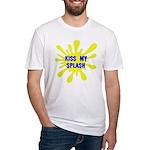 Kiss My Splash Fitted T-Shirt