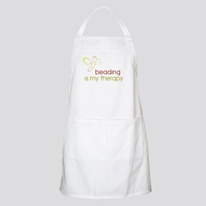 Beading is my Therapy BBQ Apron
