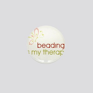 Beading is my Therapy Mini Button (10 pack)