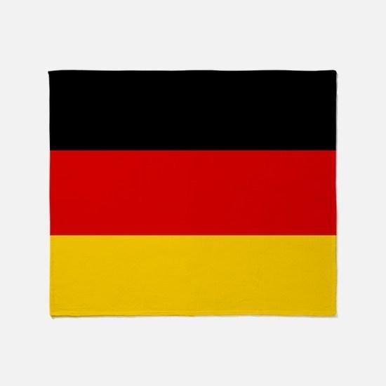 Flag: Germany Throw Blanket