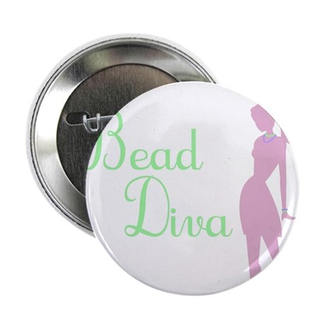 "Bead Diva 2.25"" Button (10 pack)"