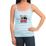 Lung Cancer Hero (Aunt) Jr. Spaghetti Tank