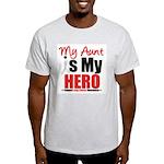 Lung Cancer Hero (Aunt) Light T-Shirt