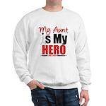 Lung Cancer Hero (Aunt) Sweatshirt