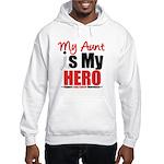 Lung Cancer Hero (Aunt) Hooded Sweatshirt