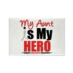 Lung Cancer Hero (Aunt) Rectangle Magnet (10 pack)
