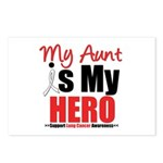 Lung Cancer Hero (Aunt) Postcards (Package of 8)