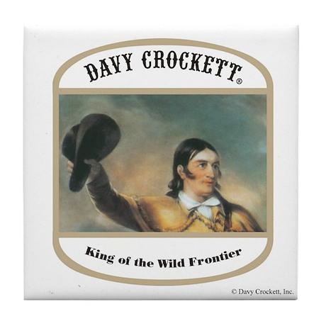 Davy Crockett Tile Coaster