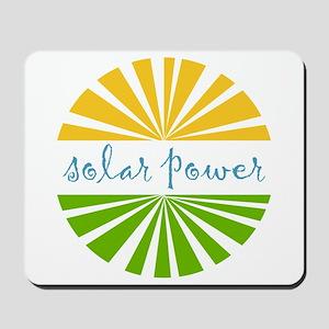 Solar Power Mousepad