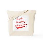 World Phucking Champions, Red Tote Bag