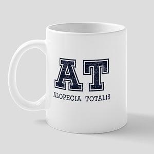 AT Alopecia Totalis Blue Mug