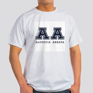 AA Alopecia Areata Blue Ash Grey T-Shirt