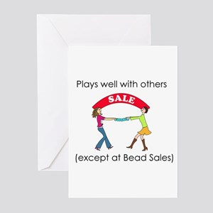 Plays well with others... Greeting Cards (Pk of 10