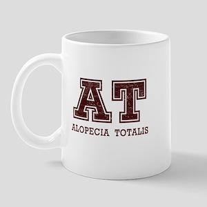 AT Alopecia Totalis Maroon Mug
