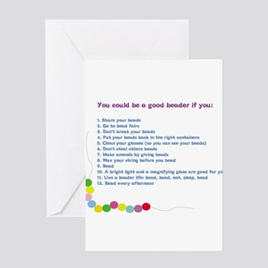 You could be a Good Beader if Greeting Card