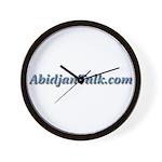 AbidjanTalk Wall Clock