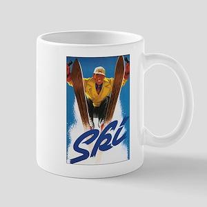 Ski Skiing Mug