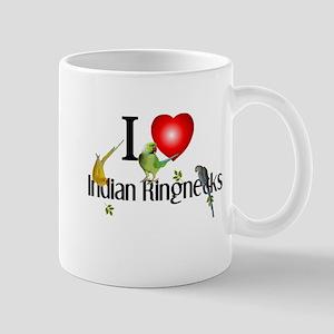 Indian Ringnecks Mug