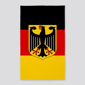 Flag: German & Coat of Arms Area Rug