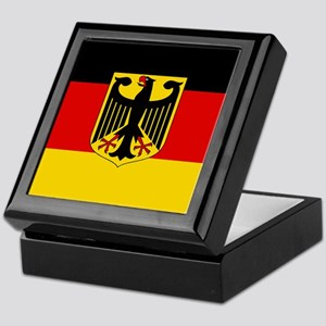 Flag: German & Coat of Arms Keepsake Box