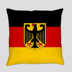 Flag: German & Coat of Arms Everyday Pillow