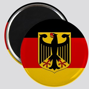 Flag: German & Coat of Arms Magnet