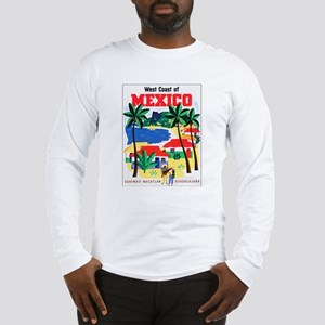 Mexico West Coast (Front) Long Sleeve T-Shirt