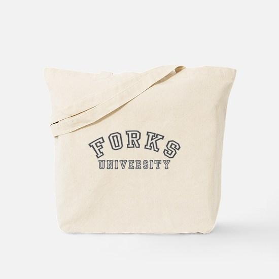 Forks University Tote Bag