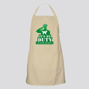 Scotch Collie BBQ Apron