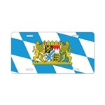 Bayern Aluminum License Plate