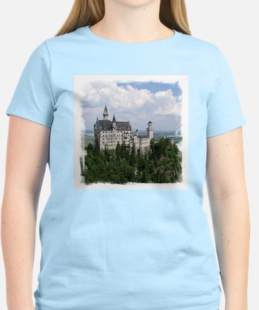 Neuschwanstein Castle Women's Light T-Shirt