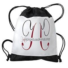 HelpingAbusedAnimals Shop Drawstring Bag