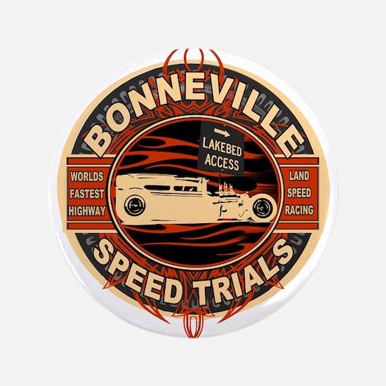 """BONNEVILLE SALT FLAT TRIBUTE 3.5"""" Button"""